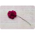 Ярко-розовая роза, 35 мм, 1шт