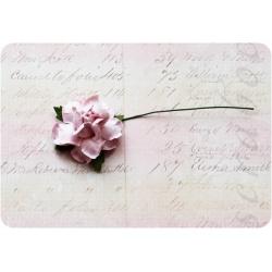 Светло-розовая роза, 35 мм, 1шт