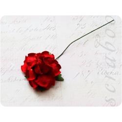 Красная роза, 35 мм, 1шт