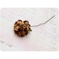 Светло-коричневая роза, 35 мм, 1шт
