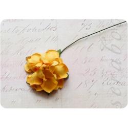 Желтая роза, 35 мм, 1шт