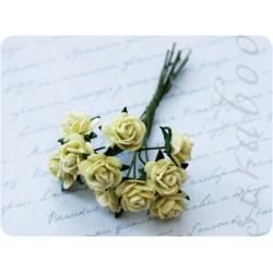 Букет светло-зеленых роз, 10 мм, 10 шт