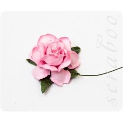 Розовая роза, 35 мм, 1шт
