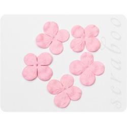 Гортензия розовая, 30мм, 20шт