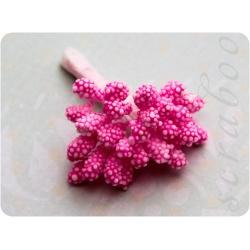 Набор розовых тычинок