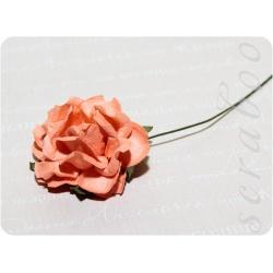 Роза оранжевая, 35мм, 1шт