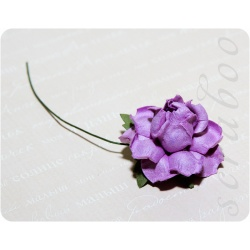 Фиолетовая роза, 35мм, 1шт